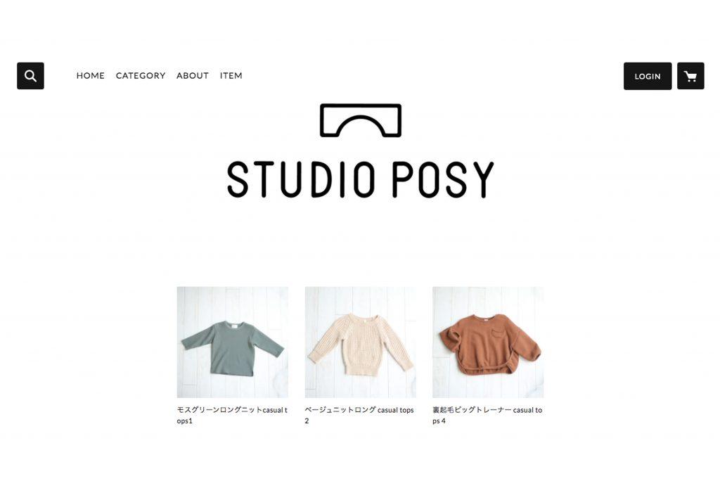 POSYのオンラインショップを開設しました