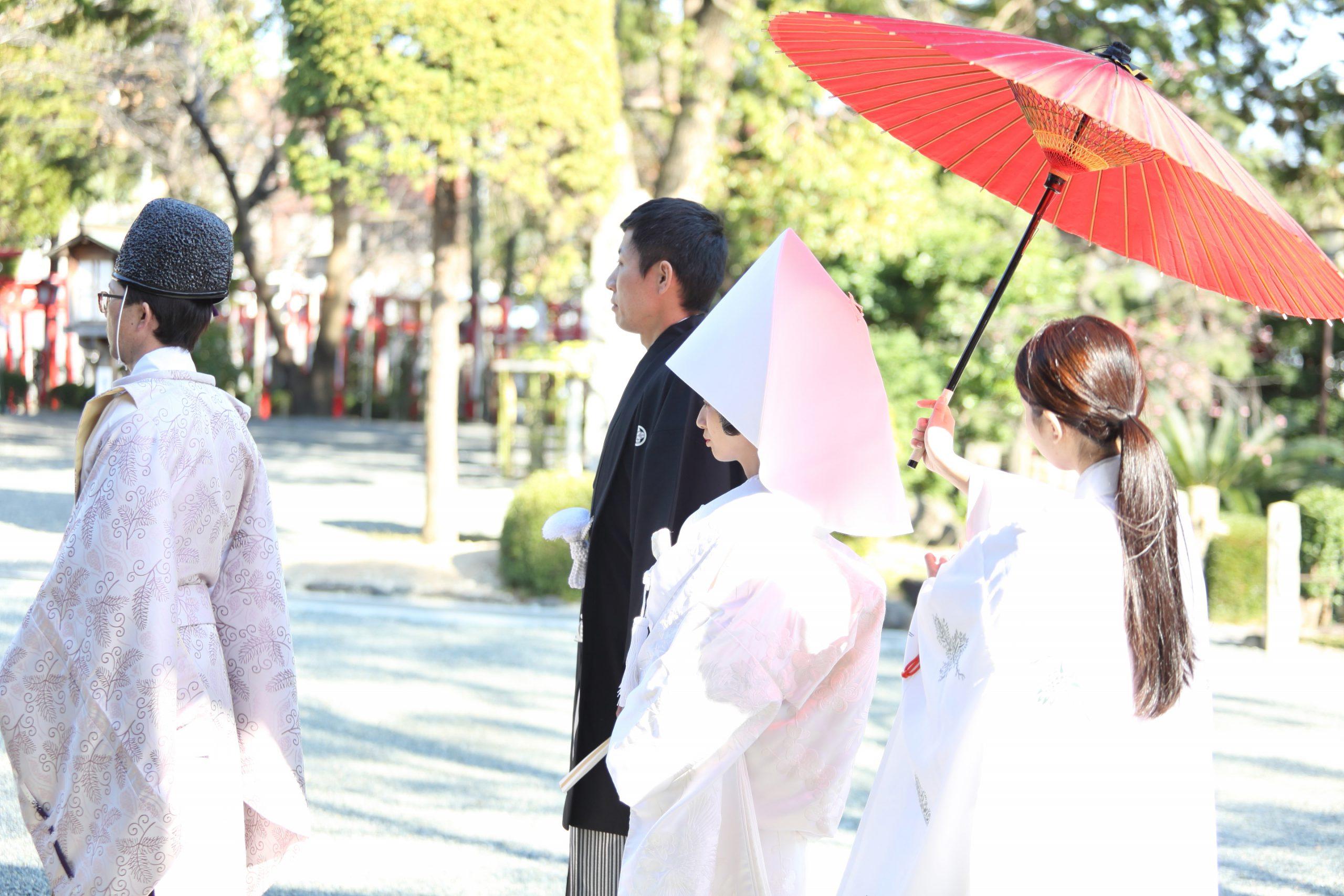 挙式写真(成海神社)